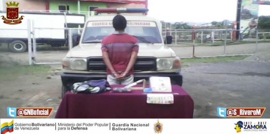 GNB Guárico frustró robo a mano armada