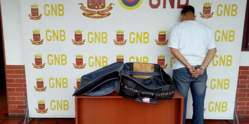 GNB Táchira capturó a ciudadano tratando de sacar 14 millones de bolívares del país