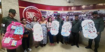 Comité  de Acción Social de la GNB ratifica su misión humanitaria y social con la entrega de canastillas