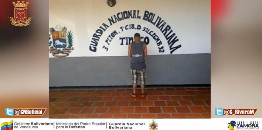 Capturado ciudadano por el delito de posesión ilícita de drogas en Cojedes