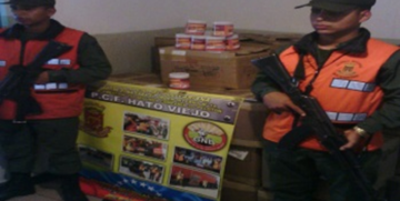 GNB Yaracuy retiene mercancía por carencia de marcaje precio justo