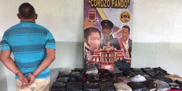 GNB Guárico decomisó 37 panelas de marihuana