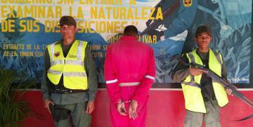 GNB Anzoátegui detuvo a ciudadano en flagrancia por intento de homicidio