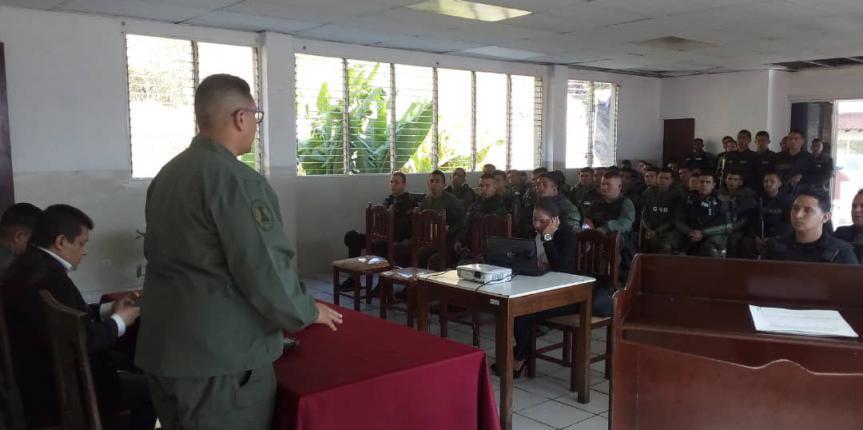 GNB Mérida realizó Conversatorio en materia de Derechos Humanos