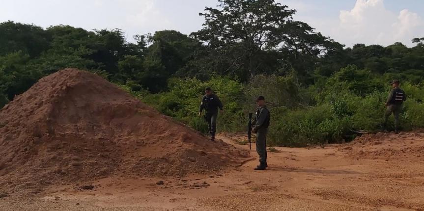 Nueva pista clandestina es descubierta por la GNB Zulia en Rosario de Perijá