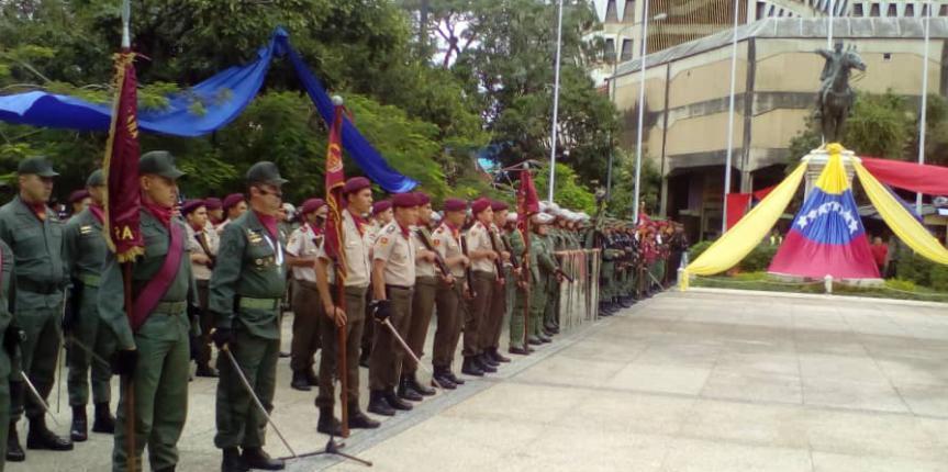 Sesión Especial con motivo del 81 aniversario de la Guardia Nacional Bolivariana
