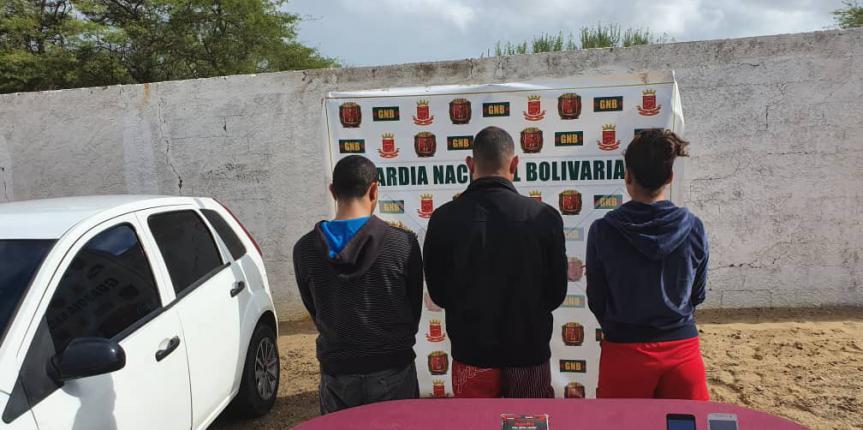 GNB Falcón desmantela GEDO dedicado al robo de viviendas