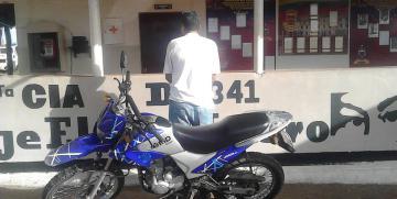Capturado con moto reportada como robada en Guárico