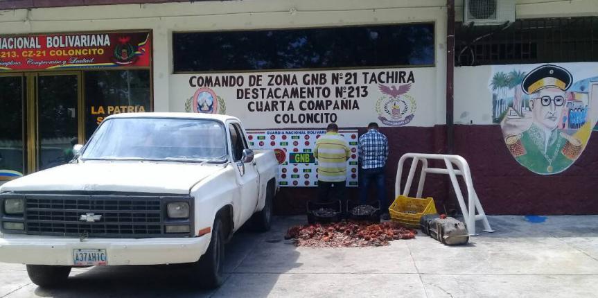 "GNB Táchira desmantela banda ""Los Trujillanos"""