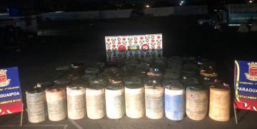 Incautados 35 mil 640 litros de combustible por GNB Zulia