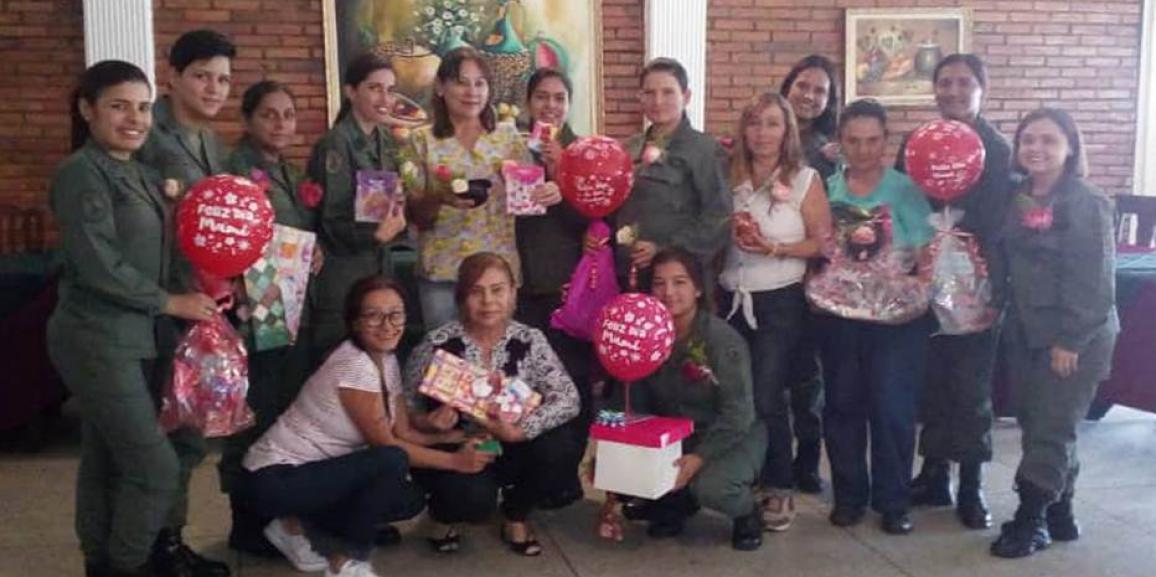 GNB Mérida homenajeó a las madres en su día