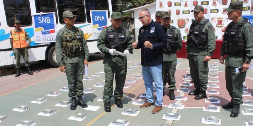 GNB y ONA incautan más de 571 kilos de cocaína en el oriente del país
