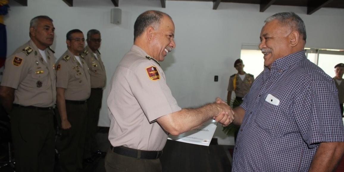 14 Coroneles de la GNB pasaron a la honrosa Reserva Activa de la FANB y fueron reconocidos por sus años de servicio