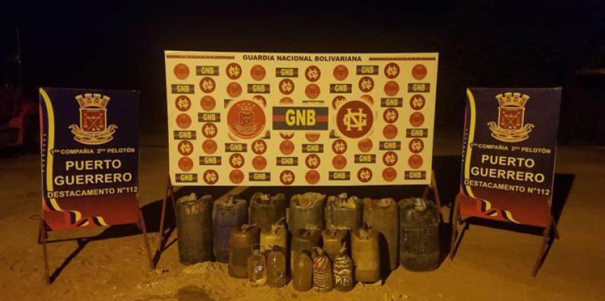 GNB Zulia desmanteló más de 27 mil litros de combustible en varios procedimientos