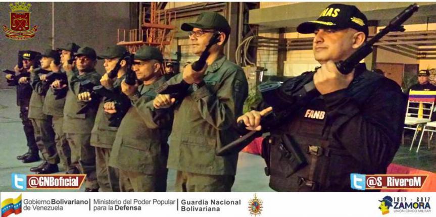 Grupos Antiextorsión y Secuestro de la GNB en estados orientales cuentan con nuevos comandantes