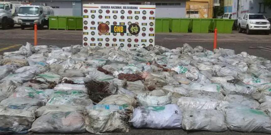 GNB incautó más de 10 toneladas de material estratégico  en el estado Bolívar