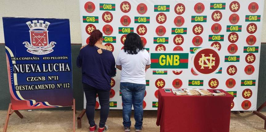 GNB detiene en frontera norte del Zulia dos mujeres con euros y dólares en sus partes íntimas