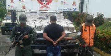 Duro golpe al narcotráfico GNB incauta 125 panelas de marihuana en el estado Cojedes