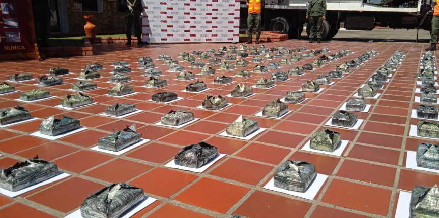 Más de 2 toneladas de droga ha incautado la GNB en Táchira en lo que va de año