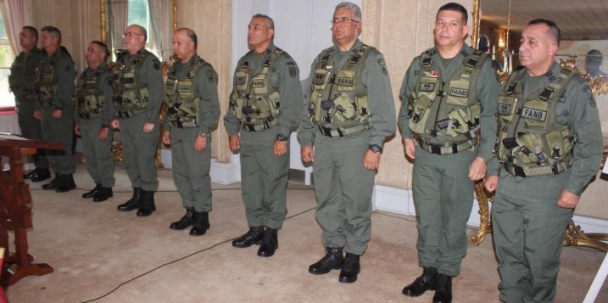 Alto Mando de la Guardia Nacional Bolivariana cuenta con nuevos Directores
