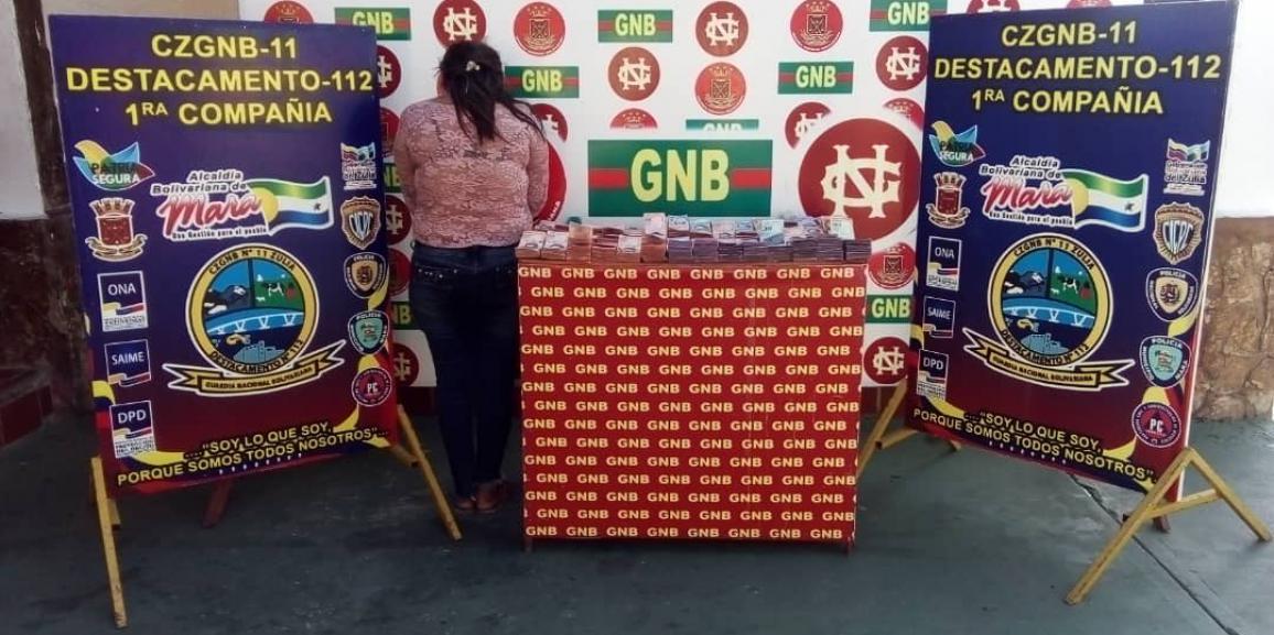GNB reporta retención de dinero en efectivo y medicamentos en el estado Zulia