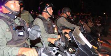 Cuerpos de seguridad se desplegaron la noche del viernes en zona norte de Anzoátegui
