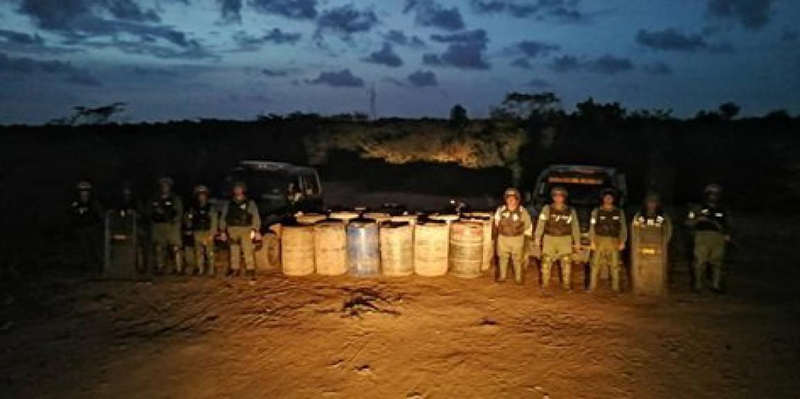 En el marco de la Operación Torniquete GNB Zulia incautó más de 10 mil litros de combustible en depósito clandestino