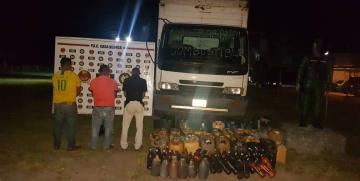 GNB aprehendió a tres ciudadanos por contrabando de combustible en el estado Bolívar