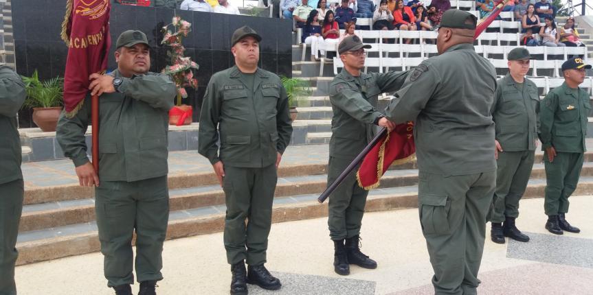 Destacamento 131, Desur y Vigilancia Costera de la GNB en Falcón tienen nuevos Comandantes