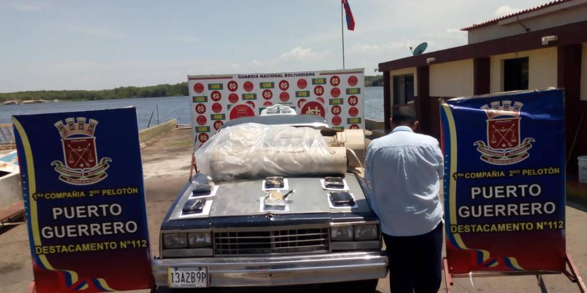 GNB Zulia detuvo a un ciudadano por tráfico de drogas en Mara