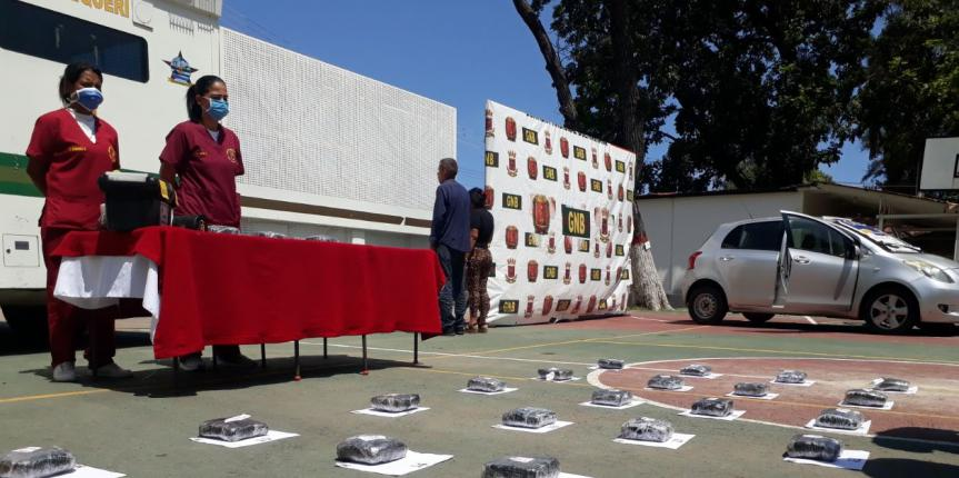GNB incautó 33 envoltorios de marihuana en Clarines