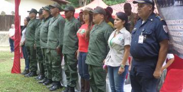 GNB Carabobo realizó lanzamiento del Guardia Forestal en el Parque Nacional San Esteban