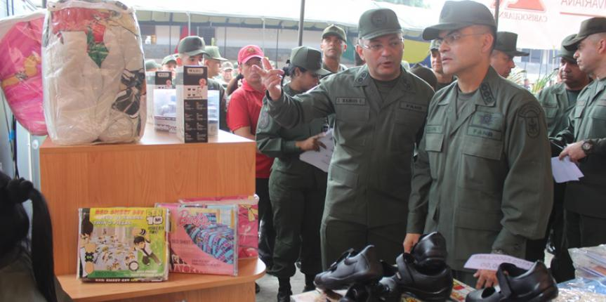 Comandancia General de la GNB realizó jornada social a cielo abierto  para el personal Militar y no Militar