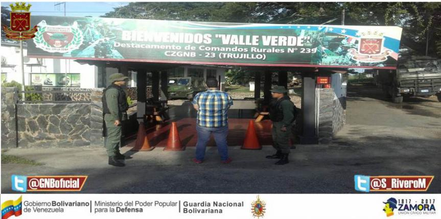 Capturado ciudadano solicitado en el estado Trujillo