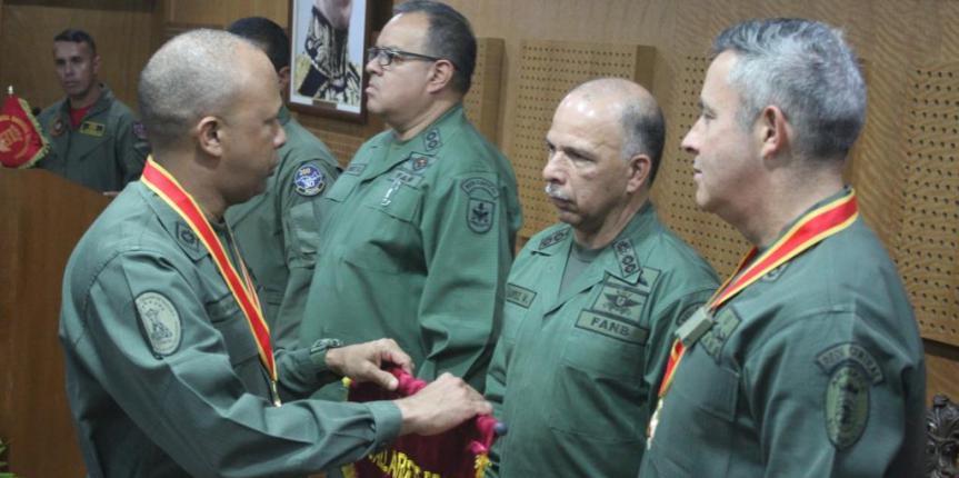 GNB Aragua recibe Gallardete de Honor por obtener el mejor rendimiento operativo