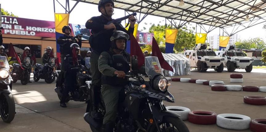 GNB Zulia realizó clausura del Primer Curso Básico de Patrullero Motorizado 2019