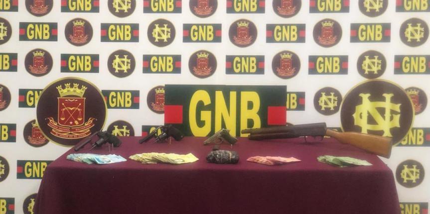 GNB desarticuló banda delictiva dedicada al sicariato, extorsión y cobro de vacuna en el estado Bolívar