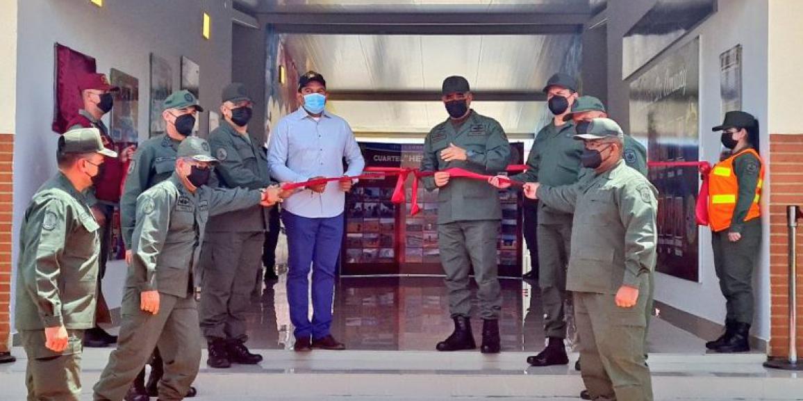"""GNB Falcón inauguró nueva sede del Destacamento 131 """"Cuartel Héroes de Amuay"""""""