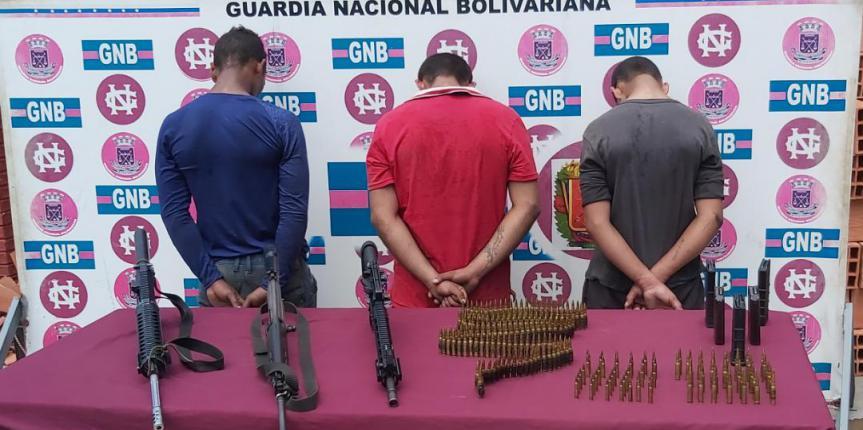 GNB Zulia desmanteló Grupo Estructurado Delincuencia Organizada con arsenal dedicado a la extorsión
