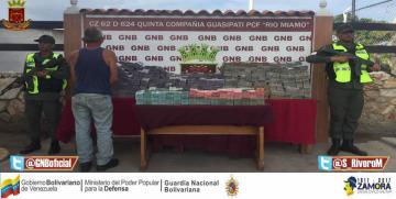 GNB Bolívar detuvo a tres ciudadanos con más de 800 millones de bolívares en efectivo