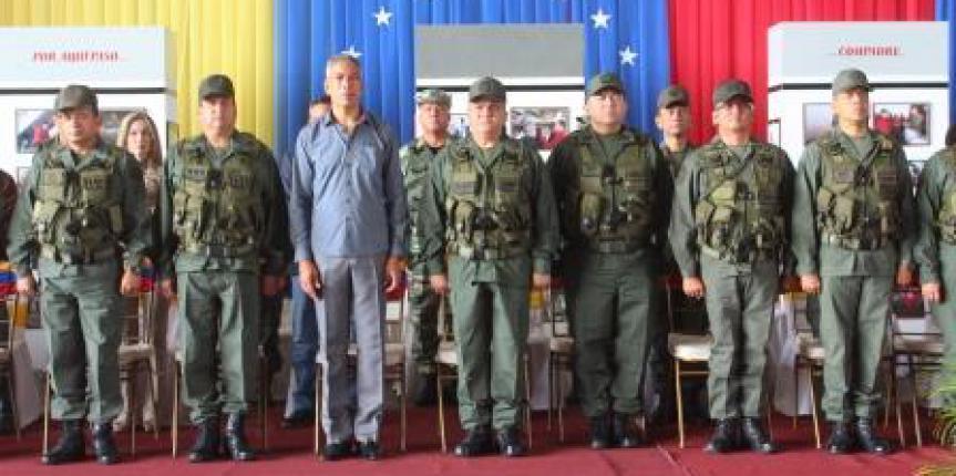 REDI Oriental realizo acto de transmisión de mando de la ZODI 51 y 52