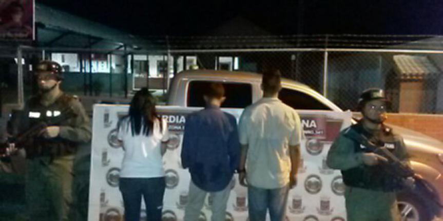 """GNB capturó a tres sicarios pertenecientes a la banda llamada """"Los Ruiz"""" en el estado Guárico"""