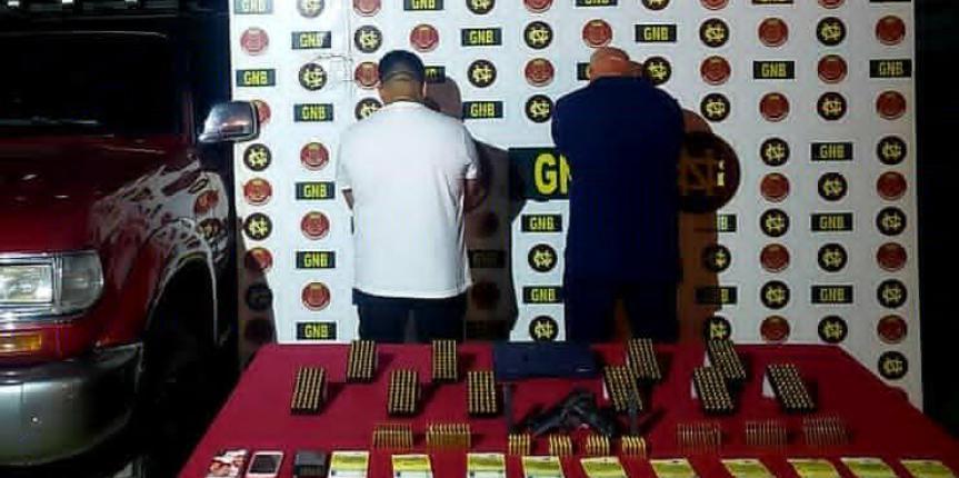 700 municiones fueron incautadas a Grupo Estructurado de Delincuencia Organizada en Anzoátegui