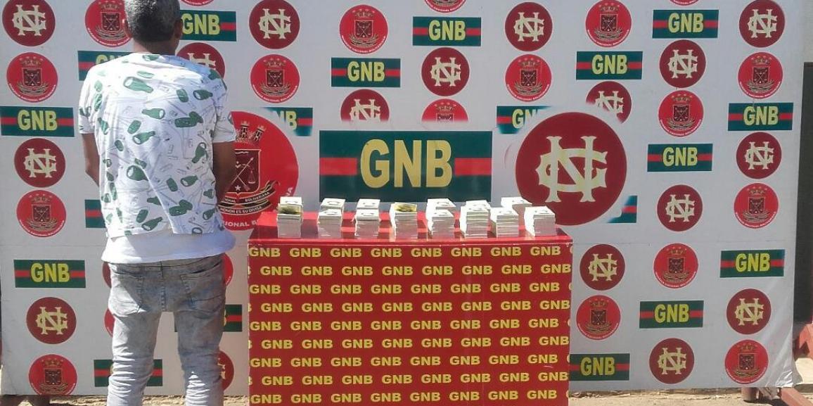 GNB Zulia retuvo 900 millones de bolívares en la frontera norte del Zulia