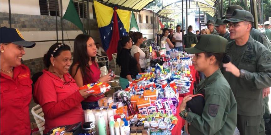 Comandancia General de la GNB realizó jornada Social cívico-militar en pro del fortalecimiento alimentario