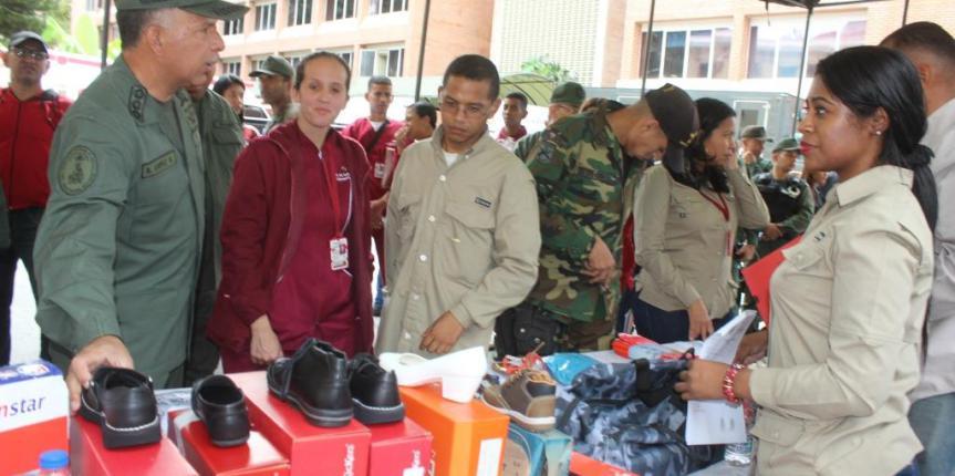Jornada socialista benefició al personal militar y civil de la GNB