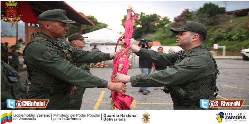 GNB realizó entrega y recepción de tres unidades tácticas en el estado Mérida