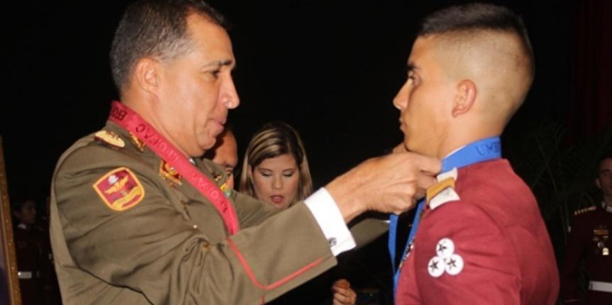 316 Alféreces de la Academia Militar de la Guardia Nacional Bolivariana ingresaron a las filas de la FANB