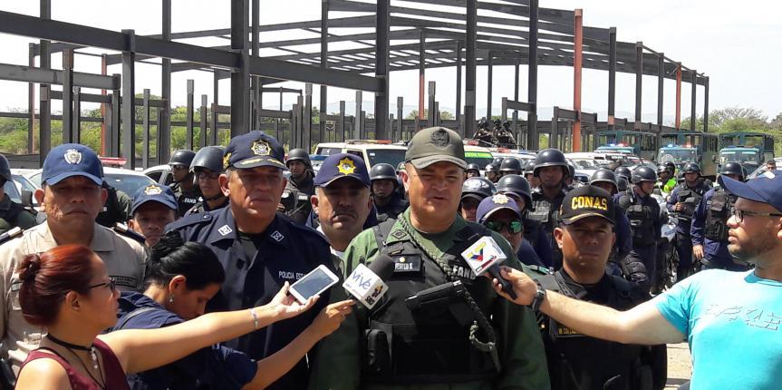 Cuerpos de seguridad se desplegaron en la zona norte de Anzoátegui