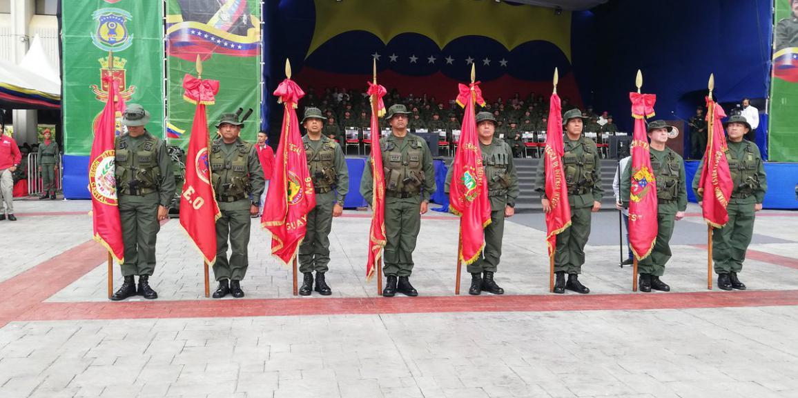 Regiones Estratégicas de Defensa Integral cuentan con nuevos Comandantes